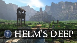 Helm's Deep Minecraft Map & Project