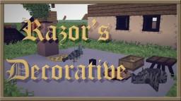 [1.12.2] Razor's Decorative - Creative Add-on for Vanilla/Default - Update 1.5 Minecraft Texture Pack