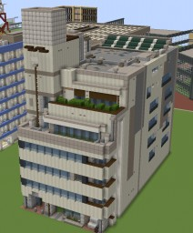 Recent architecture Minecraft Map & Project