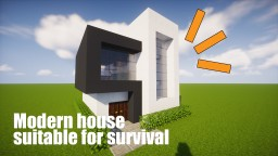 Survival house Minecraft Map & Project