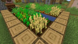 Crops auto replant Minecraft Data Pack