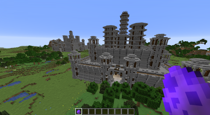 Castles blending beautifully into their surroundings, cough. Ahem.