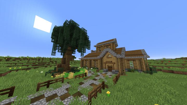 Plains House Minecraft Map