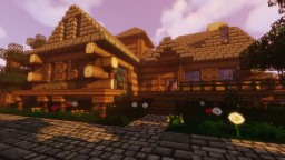 Sword Art Online: Forest House K4 + Download Minecraft Map & Project