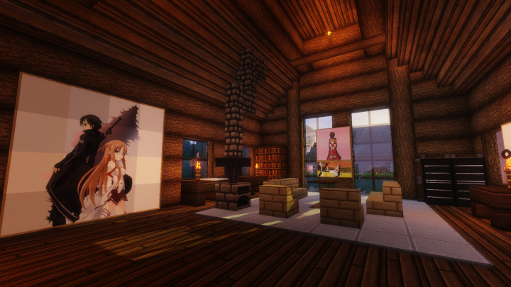 Living Room, most common part in the series.