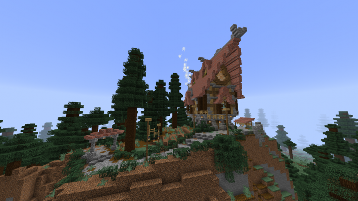 Astounding Taiga Cottage Minecraft Project Download Free Architecture Designs Osuribritishbridgeorg