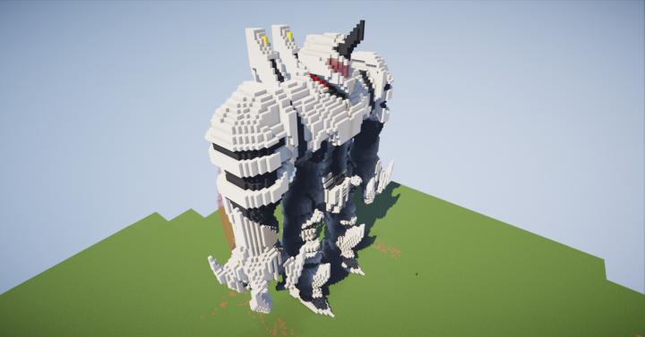 """Guardian """"Lancer"""" Mech [CF] Minecraft Map"""