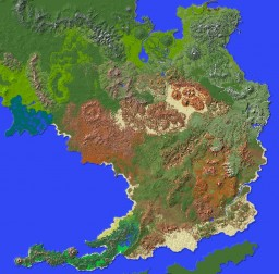 The Deserts of Paralon Minecraft Map & Project