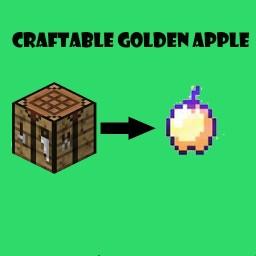 Craftable Golden Apple Datapack (v1.1) Minecraft Data Pack