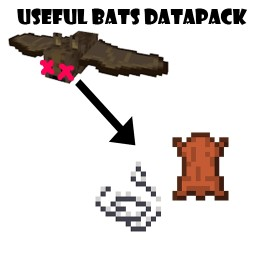 Useful Bats Datapack (v1.2) Minecraft Data Pack