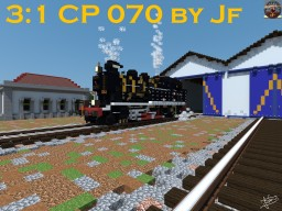 The Only Swiss Built Portuguese Steam Engine, the CP 070, by Jf Minecraft Map & Project