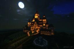 ALICE IN WONDERLAND Night Minecraft Map & Project