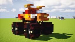 El Toro Loco Monster Truck Minecraft Map & Project