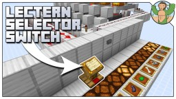 Lectern Selector Switch Minecraft Map & Project