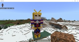 All Might Statue Minecraft Map & Project