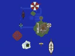 Steam Punk Sky City Minecraft Map & Project