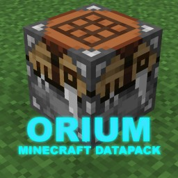 Orium Advanced Resource Processing and Item Enchanting Minecraft Data Pack