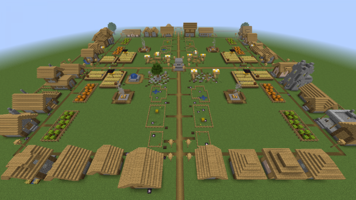 Complete 1 14 Plains Village Minecraft Map