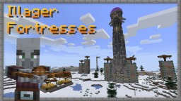 Illager Fortresses Minecraft Data Pack