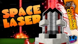 Space Laser Cannon in one command! | 1.12 Minecraft Map & Project