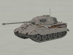 PzKpfw VI Ausf. B Tiger II «Königstiger» Minecraft Map & Project