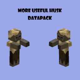 More Useful Husk (v1.2) Minecraft Data Pack