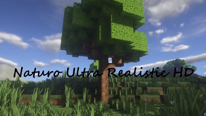 Naturo Ultra Realistic HD 4K [1.10 - 1.12 - 1.13 - 1.14] Minecraft