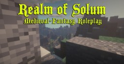 Realm of Solum Low-Fantasy Roleplay Minecraft Server