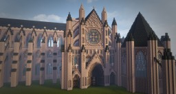 Westminster Abbey Minecraft Map & Project