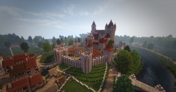 Eirenwald Castle and countryside. Minecraft Map & Project