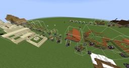 Minecraft 1.14 Village Structures Minecraft Map & Project