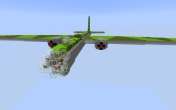 Heinkel He-177 A-5 Greif Minecraft Map & Project