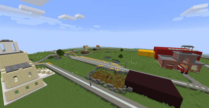 A big view of Mayor's Mansion, Super scary wither house and others