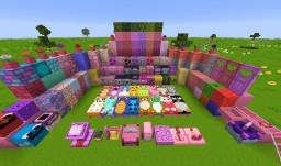 Kawaii World! 1.15 Minecraft Texture Pack