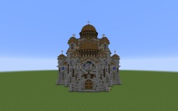 """Cathedral """" St.Ioan """" Minecraft Map & Project"""
