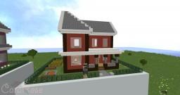 Secret Place - House #7 🏡 Minecraft Map & Project