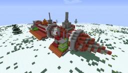 Volcanoids Drillship (Update!) Minecraft Map & Project