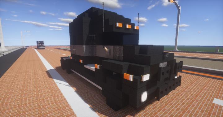 Mack Anthem Truck Minecraft Project