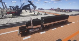 1.5:1 scale. Kenworth W990 with matching Dry Van Trailer Minecraft Map & Project