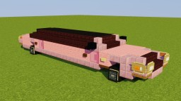 Lincoln Town Car Stretch Limousine Minecraft Map & Project