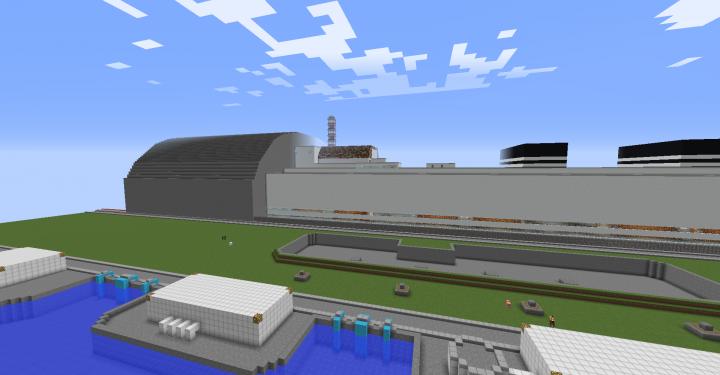 Chernobyl Exclusion Zone V2.0 Minecraft Map