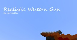 Realistic Western Gun 1.14.X *New Update* Minecraft Data Pack