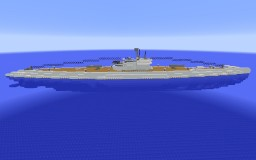 Scoute-Class U-boot Typ A40 (Custom) Minecraft Map & Project