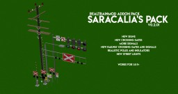 [Forge][RealTrainMod] Saracalia's Pack! An Addon Pack for RealTrainMod Minecraft Mod