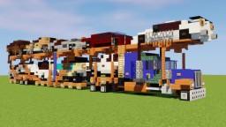 Peterbilt Car Carrier Minecraft Map & Project