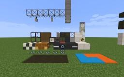 Asbestos & Moon rocks Minecraft Texture Pack