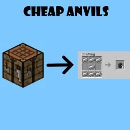 Cheap Anvils (v1.1) Minecraft Data Pack