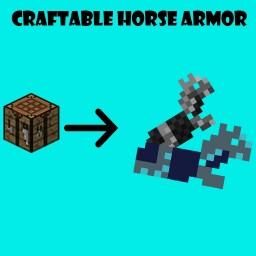 Craftable Horse Armor (v1.1) Minecraft Data Pack