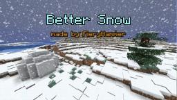 Better Snow Minecraft Data Pack