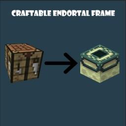 Craftable Endportal Frame (v1.1) Minecraft Data Pack